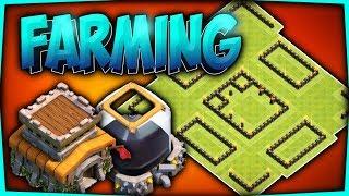 DISEÑO DE FARMING TH8   Protege tu ELIXIR OSCURO   Best th8 Dark Elixir base farming