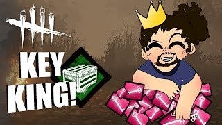 KEY KING! | Dead By Daylight LEGACY SURVIVOR GAMEPLAY