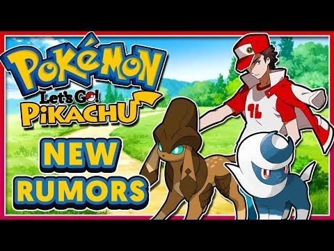 Pokémon Let's Go! Pikachu & Let's Go! Eevee - NEW RUMORS: Gen 8 New Pokemon + New Region?!