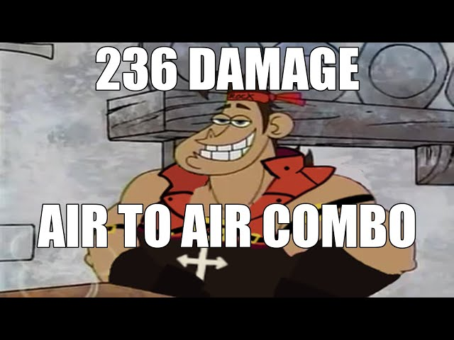 Sol midscreen air to air 236 damage combo | #GGST_SO | Guilty Gear -Strive- Standard quality (480p)