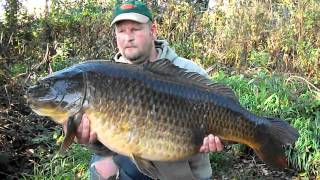 Carp Fishing - Steves Uk Pb Common At 45lb 10oz  - Wednesday 19th October 2011 Hd.