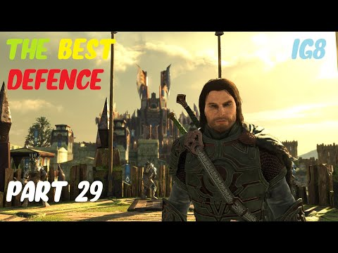 SHADOW OF WAR (MIDDLE EARTH) Playthrough Part 29: The Best Defense (Nurnen) |