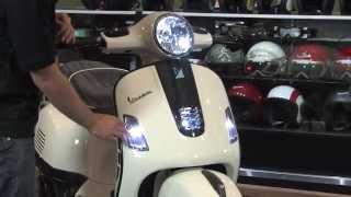 Custom Vespa GTS  with Carbon Fiber Accessories!