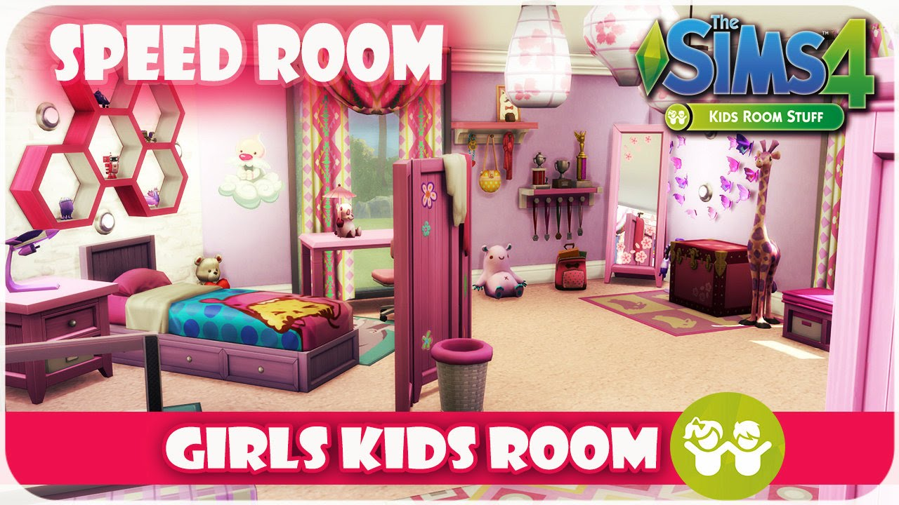 The sims 4 kids room stuff speed room girls bedroom - Stuff for girls rooms ...