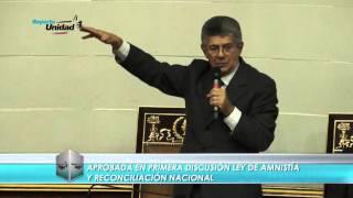 """Ramos Allup se la cantó """"clarito"""" a Cabello durante 1ra discusión de Ley de Amnistía"""