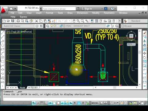HVAC - FCU, Fan Coil Units with AutoCad layout Installation details