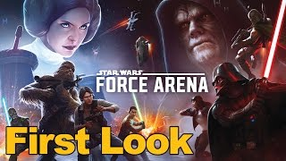 Star Wars Force Arena Gameplay First Look (Mobile Arena Game)
