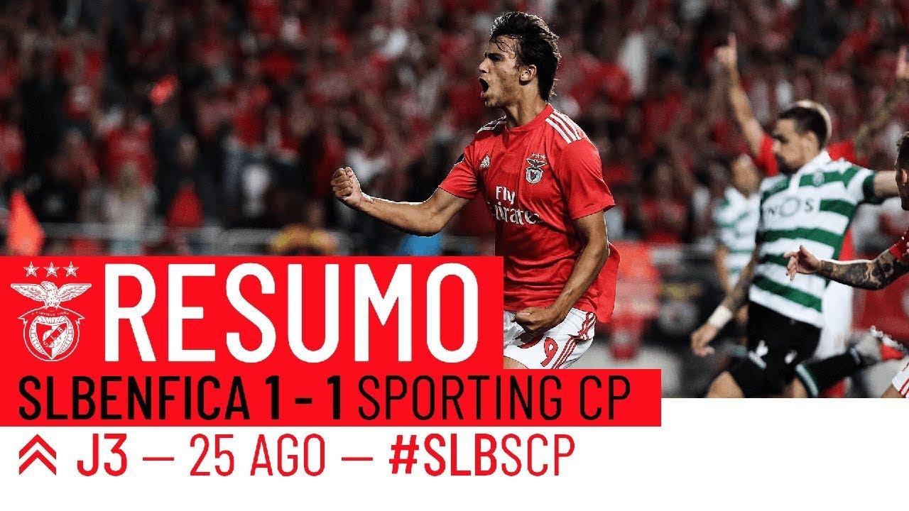 Resumo Benfica: RESUMO: SL Benfica X Sporting CP