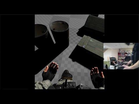 CloudGate Studio Fullbody Awareness Experiment #1 (HTC Vive)