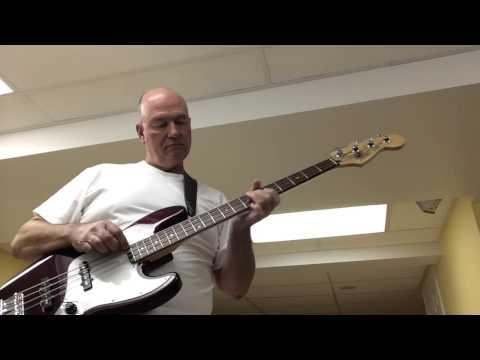 Bass Challenge -- Into the Mystic -- Van Morrison, Bob Johnson bass
