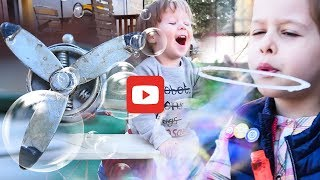 Kids Playing with Soap Bubbles | Kids Music Video | Youtube for kids