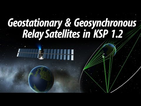 How to set up a Geostationary Relay Network in KSP 1.2  (Tut