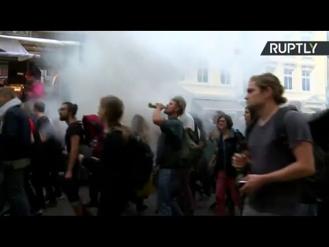 Protests hit Hamburg ahead of G20 meeting (STREAMED LIVE)