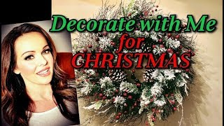 Decorate With Me For Christmas and DIY Upcycle Old Ornaments!