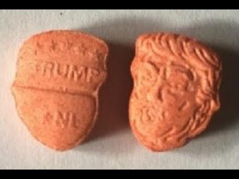 Trump Shaped Ecstasy Exists