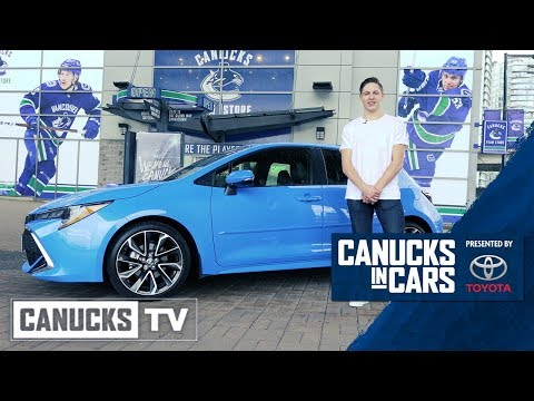 Troy Stecher - Canucks in Cars