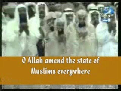 [English Trans!]-Khatmul Quran Duaa-Sheikh Sudais (2008)