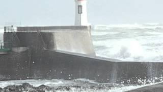 Coup de vent sur la Grande Jetée