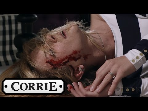 Simon Knocks Leanne Unconscious - Coronation Street