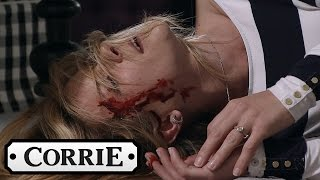 Coronation Street - Simon Knocks Leanne Unconscious thumbnail