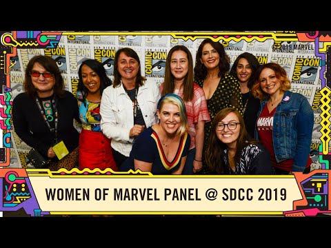 Best of: Women of Marvel Panel @ SDCC 2019