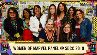 Best of: Women of Marvel Panel @ SDCC 2019