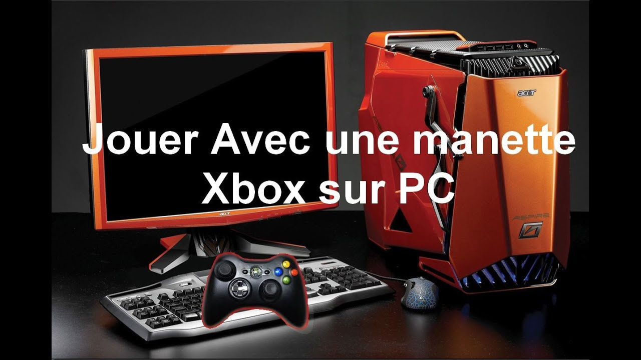 jouer avec une manette xbox sur pc tuto youtube. Black Bedroom Furniture Sets. Home Design Ideas