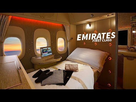 EMIRATES A380 New FIRST CLASS SUITE