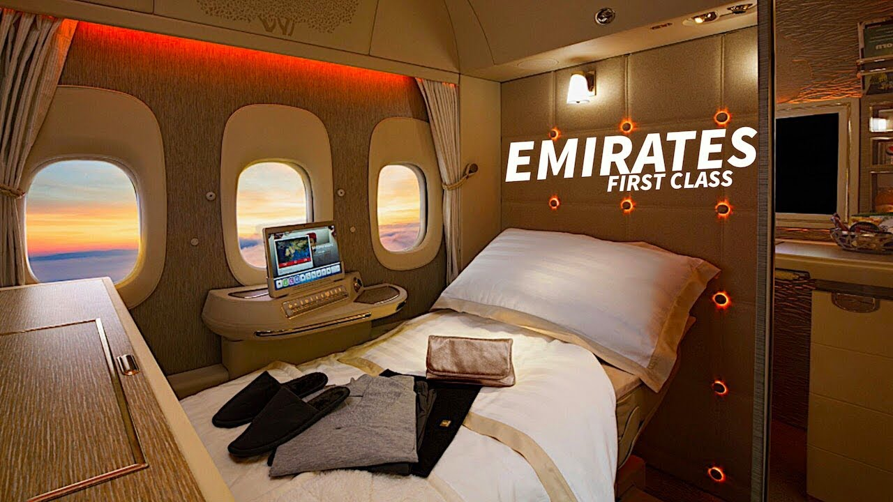 Emirates A380 New First Class Suite Youtube