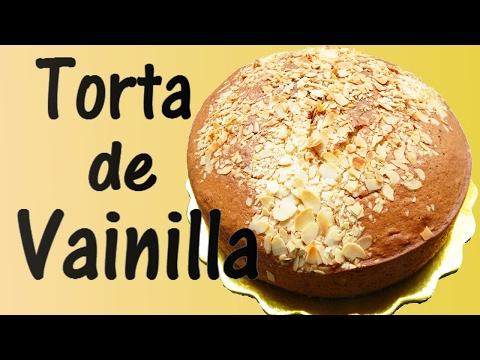 Torta de Vainilla - Receta Fácil