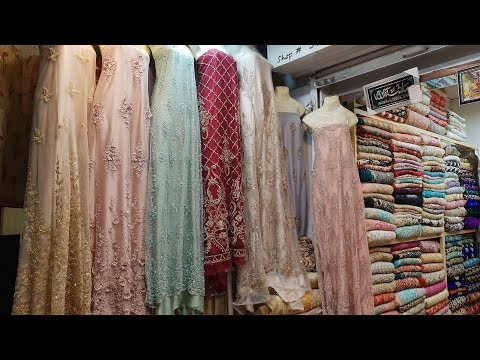 Girls Dresses Expensive Fabrics | 3D Embroidery Net Fabric Saree & More | Women Dress Designs 2018
