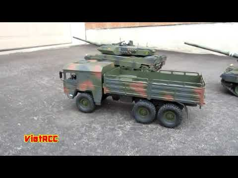 rc man kat 6x6 truck helifar 1 16 scale youtube. Black Bedroom Furniture Sets. Home Design Ideas