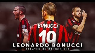 Leonardo Bonucci - AC Milan - Defensive Skills, Tackles & Passes - 2018 - HD