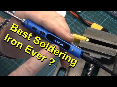 TS100 Soldering Iron Unboxing & Review