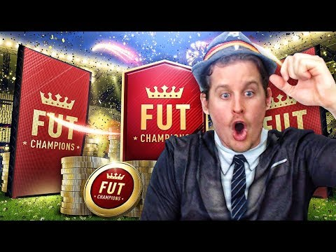 TWO WALKOUTS IN ONE PACK! MY FIRST FUT CHAMPIONS RTG REWARDS! FIFA 18 ULTIMATE PACK OPENING