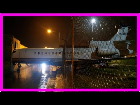 Private jet owned by Lord Ashcroft smashes into building at Malta airport