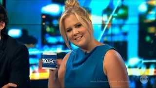 "Amy Schumer LIVE Trainwreck ""The Intimate Bedroom Scene w/ John Cena"" Aus. Tv Interview 21-7-2015"