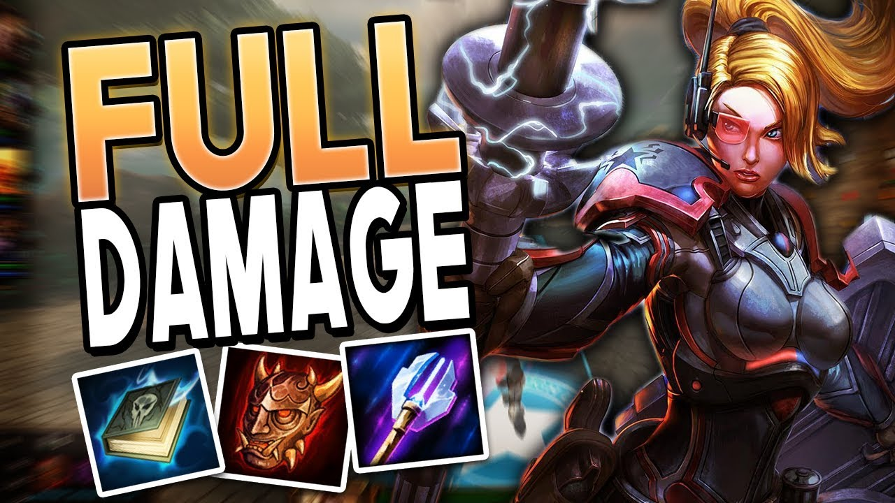 Smite Full Damage Athena Build The True Mage Carry Youtube