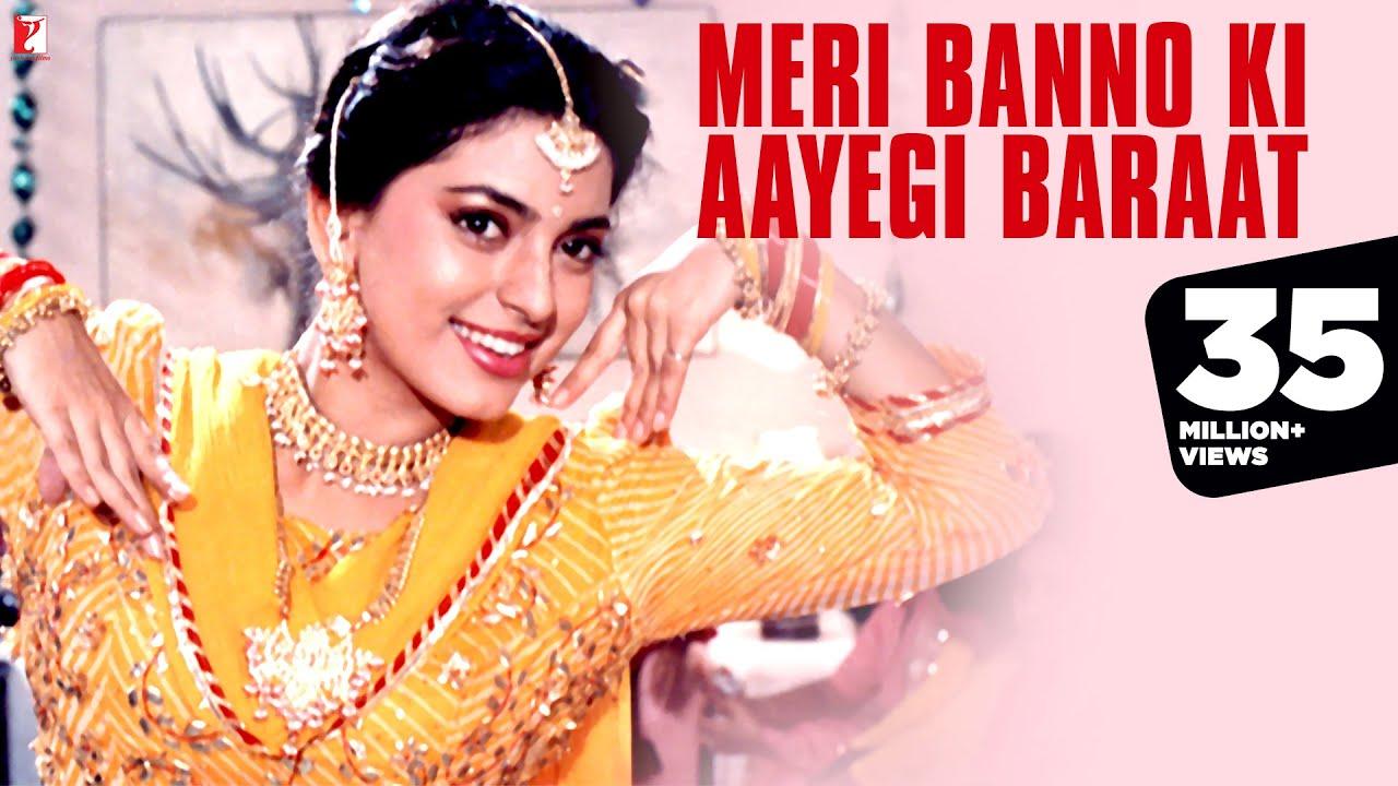 Download Meri Banno Ki Aayegi Baraat | Full Song | Aaina | Juhi Chawla, Amrita Singh | Pamela Chopra | Sameer