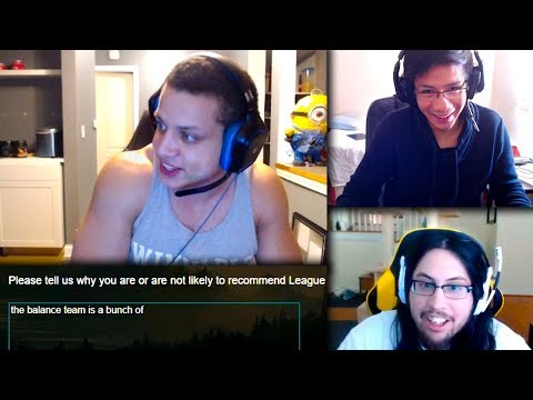 Tyler1 Gets a Survey From Riot Games | Shiphtur Gets Tilted | LLStylish Flame | LoL Funny Moments