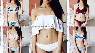 Swimsuit Try-On Haul (Zaful Review) Summer 2017 ✘ Lisa Phan