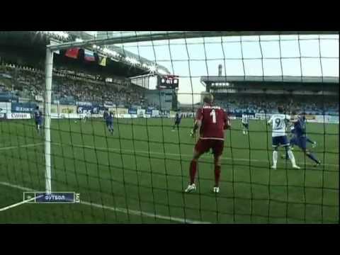 Dynamo Moscow-Rostov 1:1 Denis Kolodin Perfect Overhead-Bicycle Kick