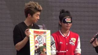 Wooyoung - playing game with the lucky fan - Tao Kae Noi Hottest with 2PM