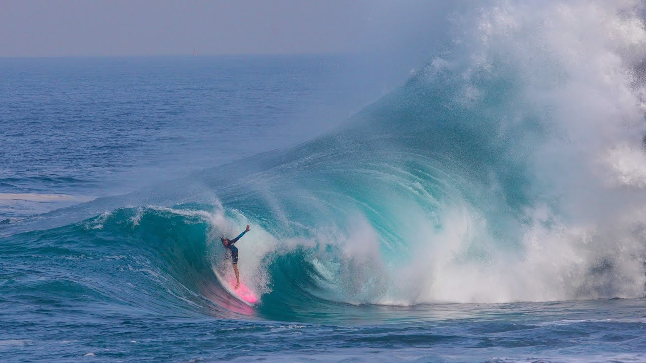 SURFING THE MEXICAN DEATH SLAB!