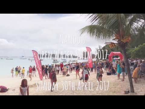 Mauritius - Nando's Open Water Swim 2017 - 3.8Km from Pereybere  to Grand Baie 30.04.17