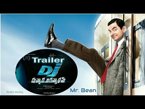 Mr Bean in as DJ Duvvada Allu Arjun MOVIE tollywood funny trailer
