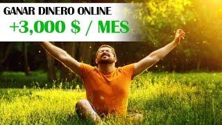 GANAR DINERO - Como Ganar DINERO ONLINE 2017 | +3mil dolares al mes thumbnail