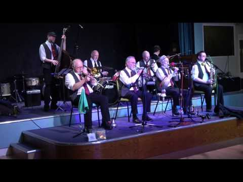 RAE BROTHERS FESTIVAL JAZZ BAND AT NEW ORLEANS JAZZ FESTIVAL HEMSBY MARCH 2017
