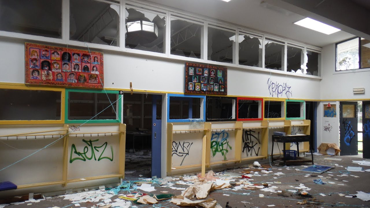 Abandoned: Clayton Primary School