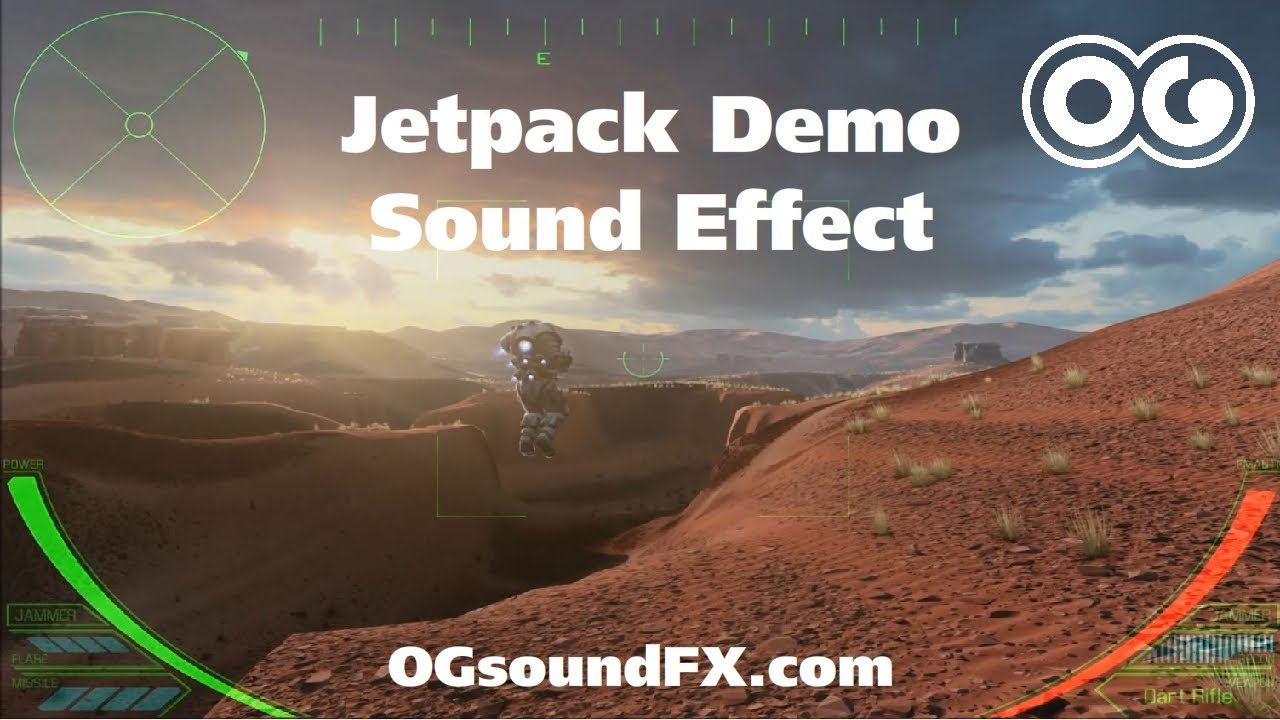 Jet Pack Sound Effect Tutorial. - YouTube